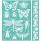 "Cuttlebug 5""x7"" Embossing Folder/Border Set - Entomology"