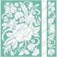 "Cuttlebug 5""x7"" Embossing Folder/Border Set - Floral Bouquet"