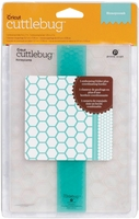 "Cuttlebug 5""x7"" Embossing Folder/Border Set - Honeycomb"