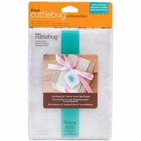 "Cuttlebug 5""x7"" Embossing Folder/Border Set - Labels & Frames"