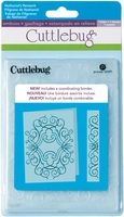 "Cuttlebug 5""x7"" Embossing Folder/Border Set - Nathaniels' Penwork"