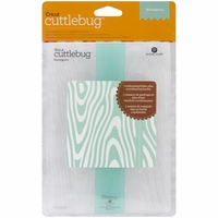 "Cuttlebug 5""x7"" Embossing Folder/Border Set - Wood Grain"