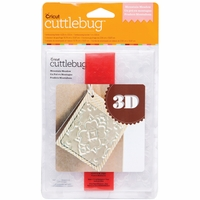 Cuttlebug A2 3-D Embossing Folder/Border Set - Mountain Meadow