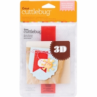 Cuttlebug A2 3-D Embossing Folder/Border Set - Shower Blossom