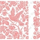 Cuttlebug A2 Embossing Folder/Border Set - Anna Griffin Aviary