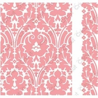 Cuttlebug A2 Embossing Folder/Border Set - Anna Griffin Brocade