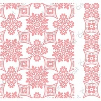 Cuttlebug A2 Embossing Folder/Border Set - Anna Griffin Foulard