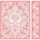 Cuttlebug A2 Embossing Folder/Border Set - Anna Griffin Juliet Damask