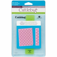 Cuttlebug A2 Embossing Folder/Border Set - Baby's Breath