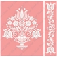 Cuttlebug A2 Embossing Folder/Border Set - Dutch Tulips
