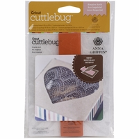 Cuttlebug A2 Embossing Folder/Border Set - Empire Arch By Anna Griffin