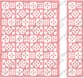 Cuttlebug A2 Embossing Folder/Border Set - Flower Folk