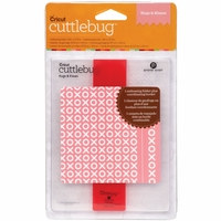 Cuttlebug A2 Embossing Folder/Border Set - Hugs & Kisses