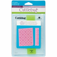 Cuttlebug A2 Embossing Folder/Border Set - Juli's Garden