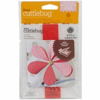 Cuttlebug A2 Embossing Folder/Border Set - Sierra Scroll By Anna Griffin
