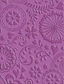 Cuttlebug A2 Embossing Folder - Floral Fantasy