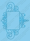 Cuttlebug A2 Embossing Folder - Flourished Frame