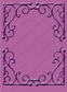 Cuttlebug A2 Embossing Folder - Rebecca