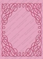 Cuttlebug A2 Embossing Folder - Scrollwork