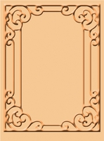 Cuttlebug A2 Embossing Folder - Tiffany