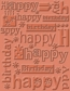 Cuttlebug A2 Embossing Folders - Happy Birthday