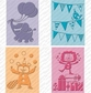 Cuttlebug Cricut Companion Embossing Folder Bundle - Birthday Bash