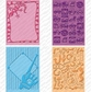 Cuttlebug Cricut Companion Embossing Folder Bundle - Boys Will Be Boys