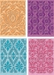 Cuttlebug Cricut Companion Embossing Folder Bundle - Damask Decor