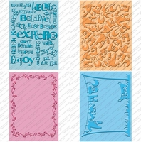 Cuttlebug Embossing Bundle - Wall Decor