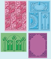 Cuttlebug Embossing Folders - Art Deco