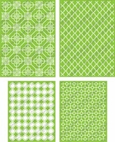 Cuttlebug Embossing Folders - Decorative Tile