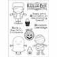 Darcie's Clear Stamp Set - Bootiful Halloween