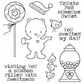 Darcie's Cling Mounted Rubber Stamp Set - Beary Sweet
