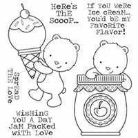 Darcie's Cling Mounted Rubber Stamp Set - Jam Packed