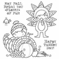 Darcie's Cling Mounted Rubber Stamp Set - Plenty Of Fun