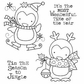 Darcie's Cling Mounted Rubber Stamp Set - Season To Jingle