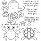 Darcie's Cling Mounted Rubber Stamps - A Little Crabby