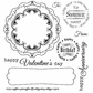 Darcie's Cling Mounted Rubber Stamps - Banner Day