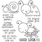 Darcie's Cling Mounted Rubber Stamps - Buggy Over You