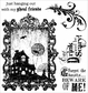 Darcie's Cling Mounted Rubber Stamps - Eat Drink And Be Scary