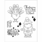 Darcie's Cling Mounted Rubber Stamps - Ever So Grateful
