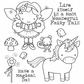 Darcie's Cling Mounted Rubber Stamps - Fairy Tales