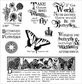 Darcie's Cling Mounted Rubber Stamps - Take Wing