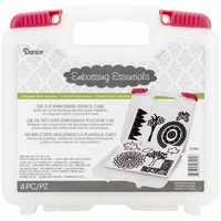 Darice Embossing Essentials Craft Dies Storage Case