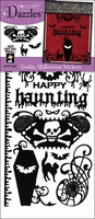 Dazzles Stickers - Gothic Halloween Black