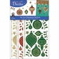 Dazzles Stickers Mixems Tri Color - Christmas Ornaments