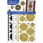 Dazzles Stickers Mixems Tri Color - Medallions