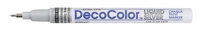 Deco Color Extra Fine Metallic Paint Marker - Liquid Silver*