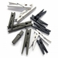 Decorative Clothespins Assorted Sizes - Black, White And Brown Assorted