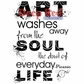 Deep Red Cling Stamp - Art Soul Life
